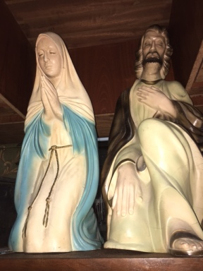 MARY & JESUS STATUES2