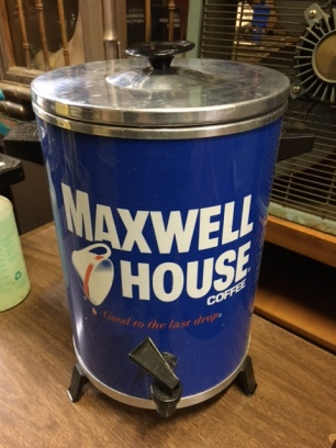 MAXWELL HOUSE HOT WATER HEATER