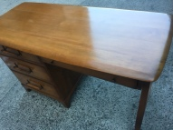 MID CENTURY MODERN SOLID WOOD DESK TOP