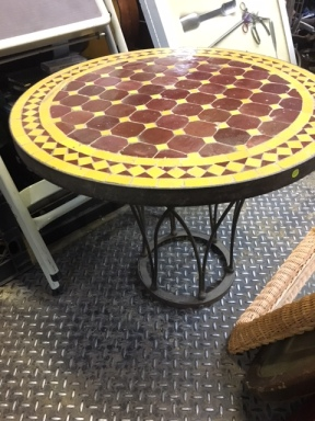 MORROCAN TILE TABLE