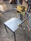 BRASS UNIQUE ONE OF A KIND CHAIR