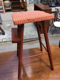 DANISH MODERN SMALL STOOL