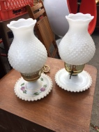 FENTON TYPE LAMPS