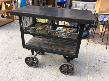 INDUSTRIAL METAL CART 4