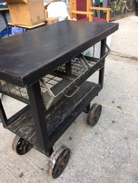 INDUSTRIAL METAL CART2