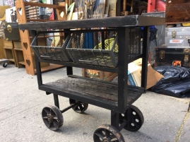 INDUSTRIAL METAL CART3