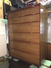 MID CENTURY LONG DRESSER HICKORY MANUFACTURING TALL DRESSER