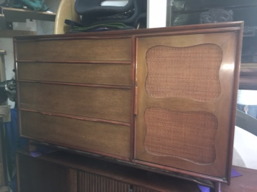 MID CENTURY LONG DRESSER HICKORY MANUFACTURING