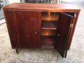 MID CENTURY MODERN RECORD CABINET $200