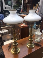 STIFFEL BRASS LAMPS 2