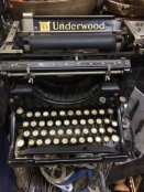UNDERWOOD #5 TYPEWRITER