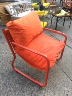 VINTAGE BUNTING LOUNGE CHAIR