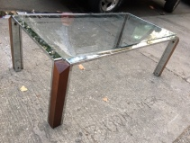 CHROME MID CENTURY COFFEE TABLE2