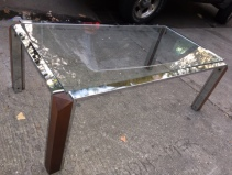 CHROME MID CENTURY COFFEE TABLE3