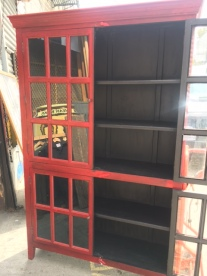 LARGE WOOD ABINET