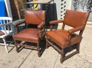 LEATHER LAWYER CHAIRS