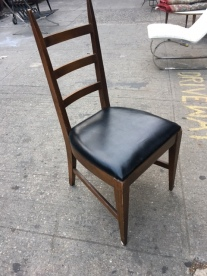 MID CENTURY LADDERBACK CHAIR