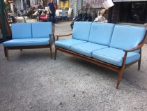MID CENTURY MODERN COUCHES