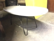 SOAPSTONE HAIRPIN COFFEE TABLE