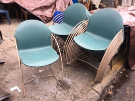 STEELCASE MID CENTURY CHAIRS