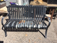 HEAVY METAL OUTDOOR BENCH