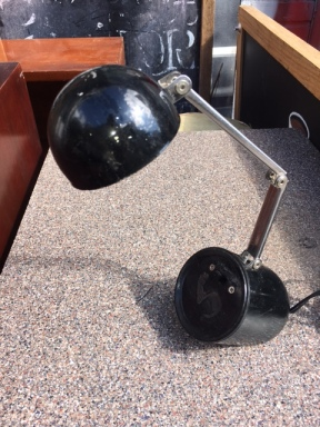 MID CENTURY BALL LAMP