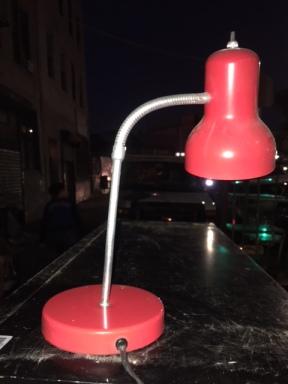 MID CENTURY MOD LAMP