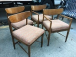 MID CENTURY MODERN DANISH CHAIRS