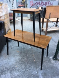 MID CENTURY TABLES