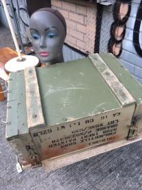 MILITARY WOOD BOX