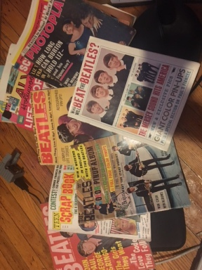 VINTAGE BEATLES MAGAZINES