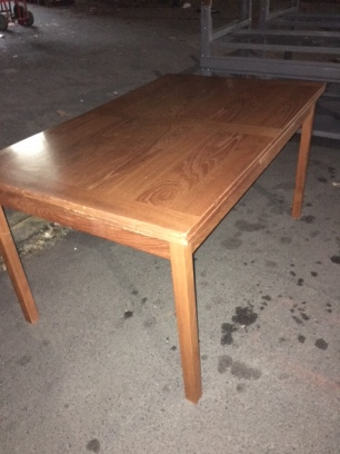 DANISH MODERN EXPANDABLE DINING TABLE 94X34.5 - 53X34.5