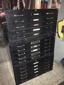 FLAT FILE 35 WIDE X 27 DEEP X 17.5 TALL