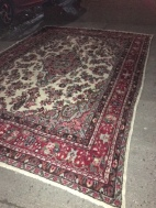 HANDMADE 2 PERSIAN RUG 145X103