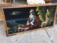 JESUS FELT PAINTING