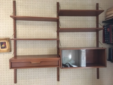 MID CENTURY MODERN SHELF WALL UNIT