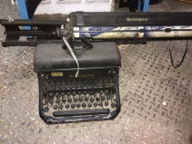 SUPER LARGE REMINGTON TYPEWRITER