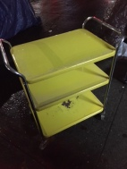 YELLOW BAR CART