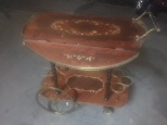 ITALIAN BAR CART DECORATIVE