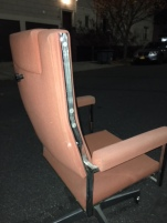 MID CENTURY BON MARCHE FRENCH OFFICE CHAIR 2