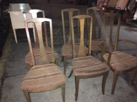 MID CENTURY DINING CHAIRS 2