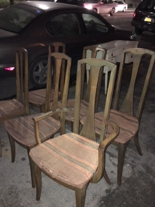 MID CENTURY DINING CHAIRS 3