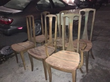 MID CENTURY DINING CHAIRS 4