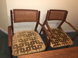 MID CENTURY MODERN DINING CHAIRS 2