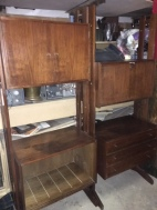MID CENTURY WALL UNIT 6