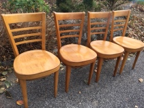THONET WOOD CHAIRS