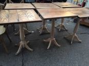 WOOD BAR TABLES