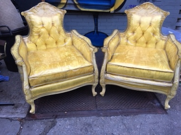 YELLOW KINGS CHAIRS