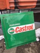 CASTROL OIL SIGN