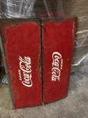 EMBOSSED COKE SIGN